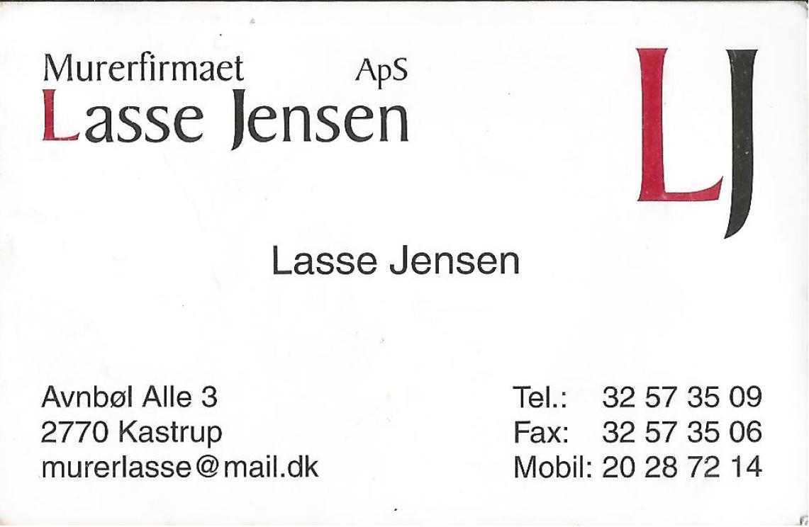 Murerfirmaet Lasse Jensen ApS